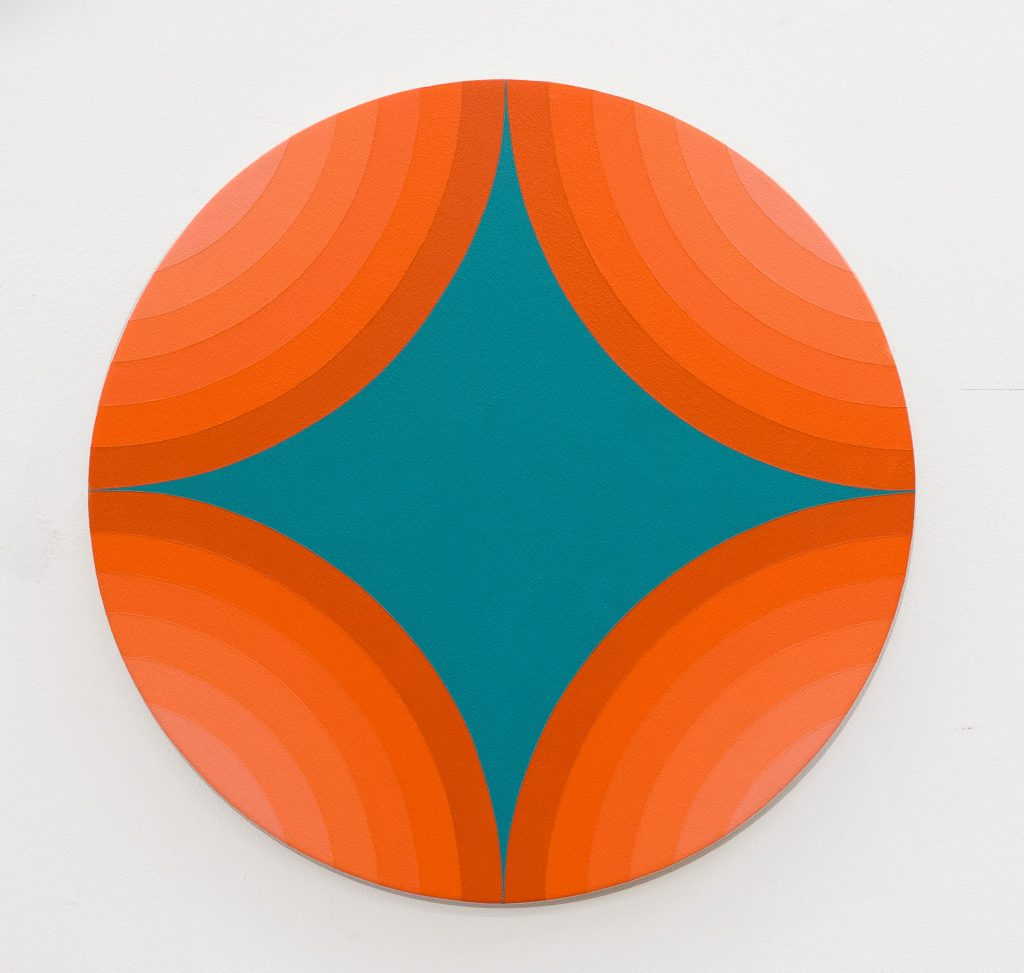 4 Circles Make A star, Orange Version
