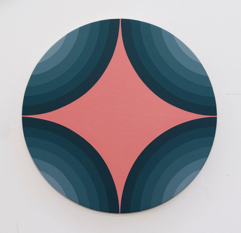 4 Circles Make A star, Blue version/Chicken Skin